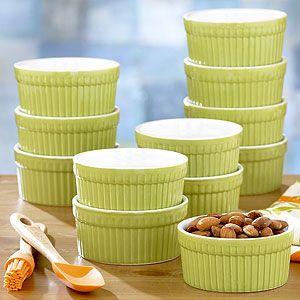 Green 3.5-oz. Ramekin, Set of 12 | Cooking and Baking| Kitchen & Dining | World Market