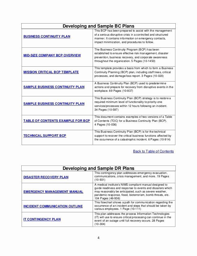Disaster Recovery Plan Template Nist Awesome Itil Disaster