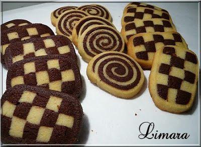 Limara péksége: Karácsonyi aprósütik-sakktáblák és csigák