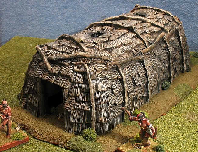 Wigwams my huron longhouse native americans for How long to build a house