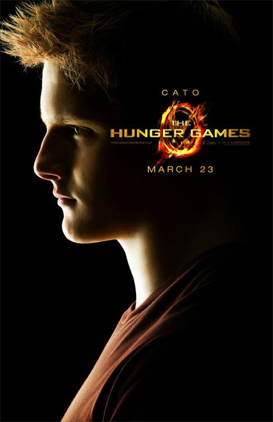"""""""The Hunger Games"""" Character Posters Revealed Cato"""