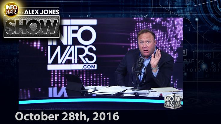 Full Show - The Fall Of Hillary Clinton, FBI Closes In - 10/28/2016
