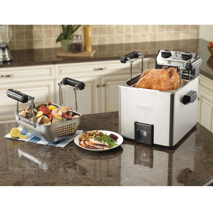 Rotisserie Turkey Fryer/Steamer