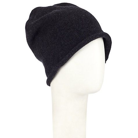 Buy John Lewis Made in Italy Cashmere Roll Beanie Hat Online at johnlewis.com