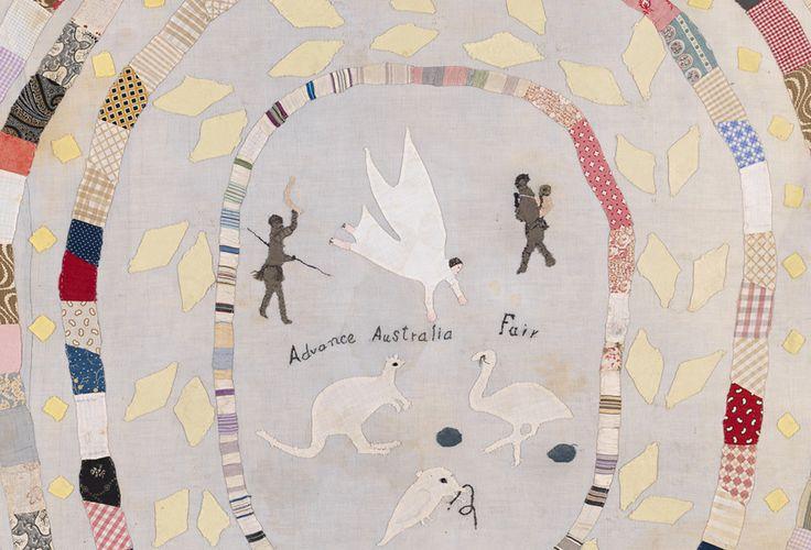 Detail Advance Australia Fair