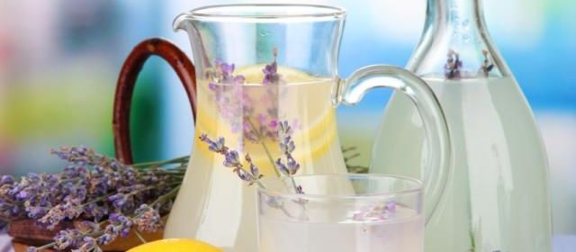 Lavender Lemonade #recipe #food