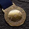 Jenson Button Triathlon medal