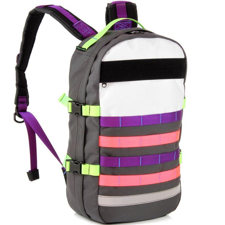 18L of custom bright BullPup backpack!