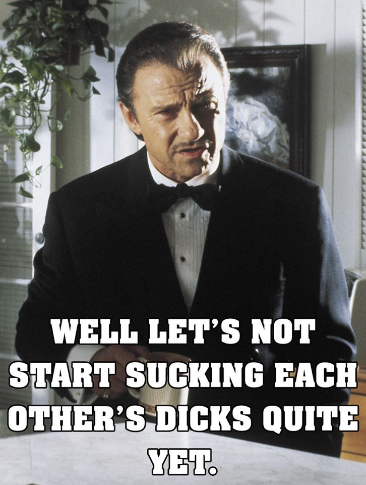 Awsome movie quote:  PULP FICTION