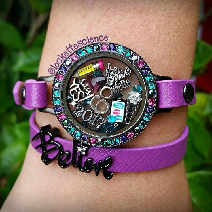 Check out the gorgeous, new Origami Owl Fall + Winter Collection - Origami Owl, Swarovski, Fall accessories, Winter accessories, jewelry, lockets, charms, personalized gifts, purple, leather wrap, bracelet