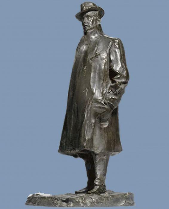 http://www.liveinternet.ru/community/1726655/post293557088/ Дж. Пуччини перед его Домом-музеем в Торре-дель-Лаго.