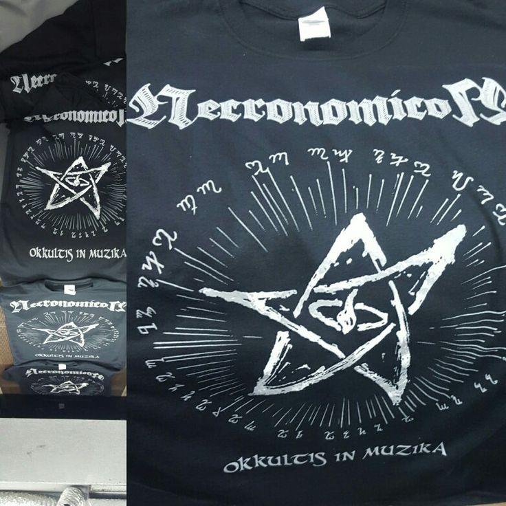 Brand new Necronomicon shirts hot off the press!