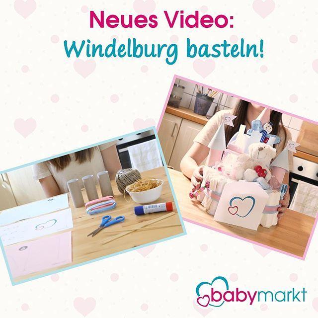 #windeltorte war gestern, wir basteln mit euch eine #windelburg! 🤗🍼🎀Unser DIY-Video und die Produkte, die ihr braucht, findet ihr im babymarkt-Ratgeber unter babymarkt.de/Ratgeber/ Viel Spaß beim #basteln ! #diy #videodiy #geschenkezurgeburt #windeltorten #bastelanleitung #doityourself #baby #geburt #taufe #taufgeschenk #babymarkt #babymarktde