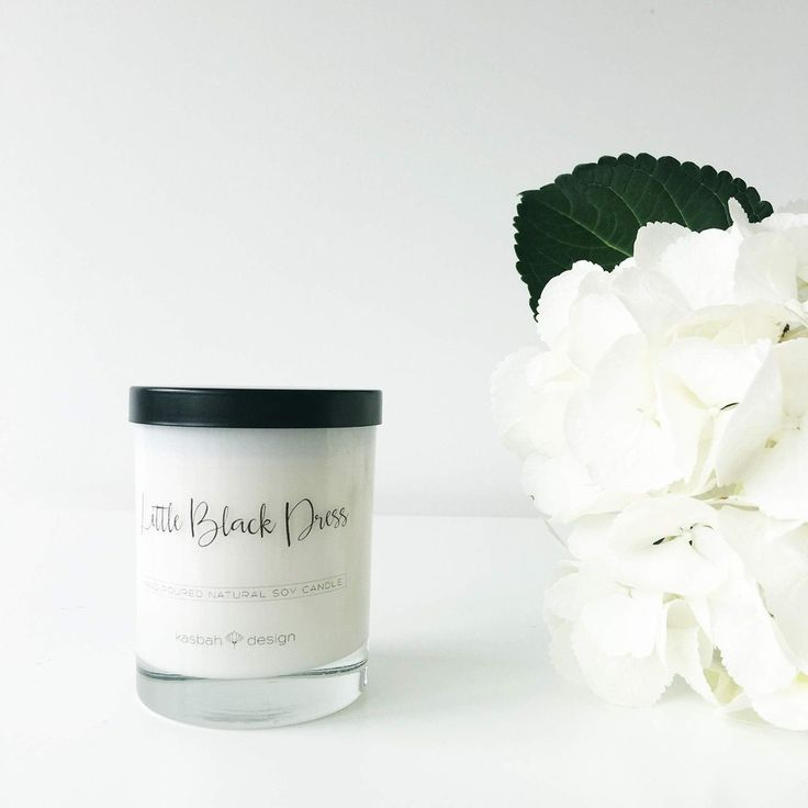 Kasbah Design:Candle:Little Black Dress - Scented Soy Candle