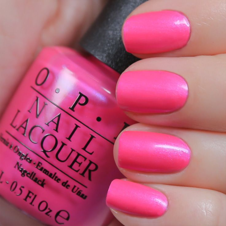 #OPIneons in Hotter Than You Pink is the perfect summer shade from @OPI Products.