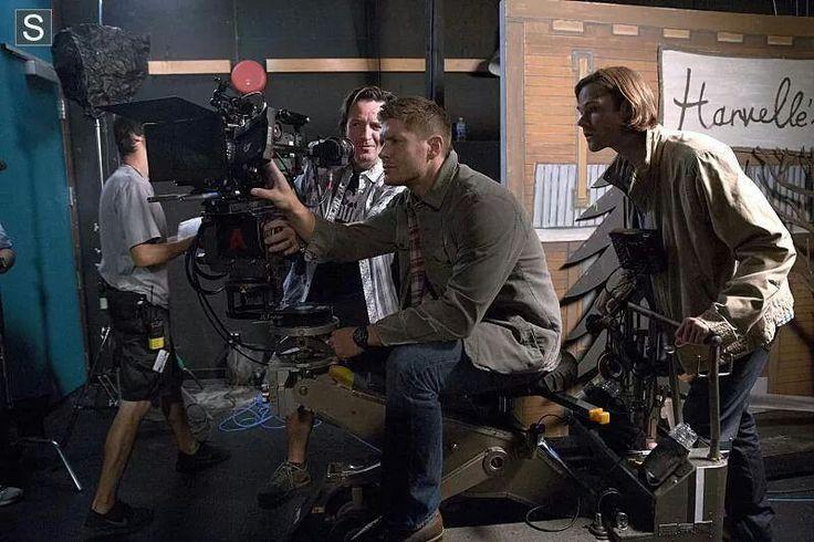 Jensen and Jared BTS