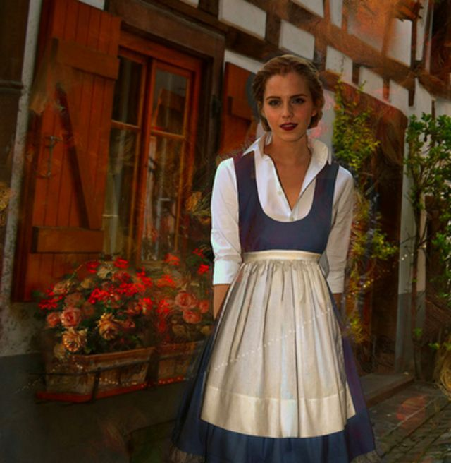 10 Beautiful Pictures of Emma Watson as Belle in Beauty & the Beast   moviepilot.com