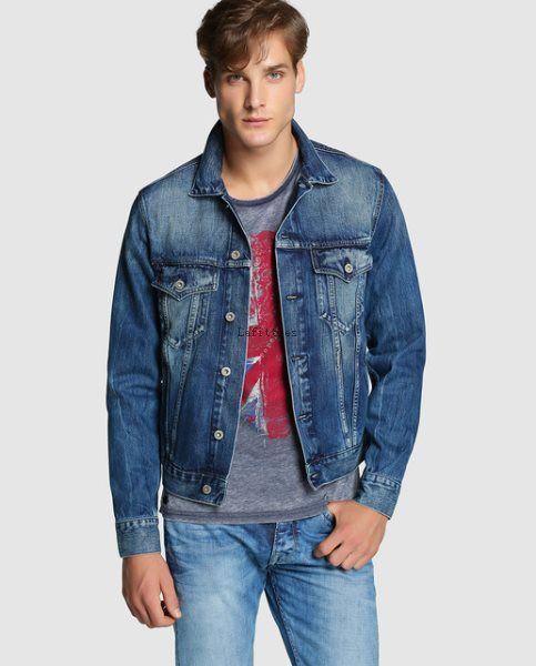 Azul Cazadoras Talla 3XL - PW83421 - Pepe Jeans Nuevo estilo Chaqueta vaquera de hombre de Joven Él