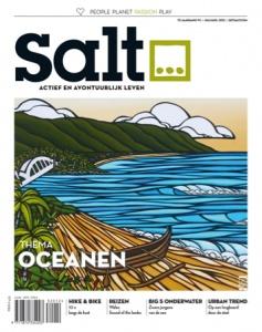 De cover van de aankomende zomereditie van Salt magazine is klaar. En we hebben ook een primeurtje te melden. Deze cover, die een kunstwerk laat zien van de Hawaiiaanse kunstenares Heather Brown, is te scannen met Layar!