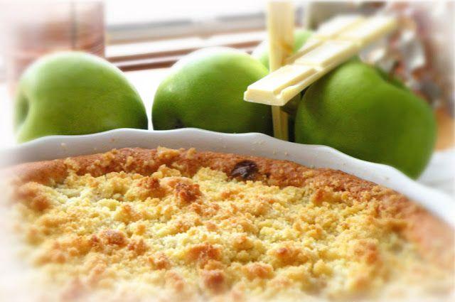 VillaCaramilla: Herkullinen Omena-valkosuklaapiirakka