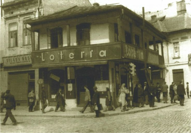 rascruciulmic mare, Craiova's first lottery shop