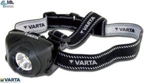VARTA LAMPADA FRONTALE A LED CON CINGITESTA MORBIDO IN OFFERTA A 20,99€