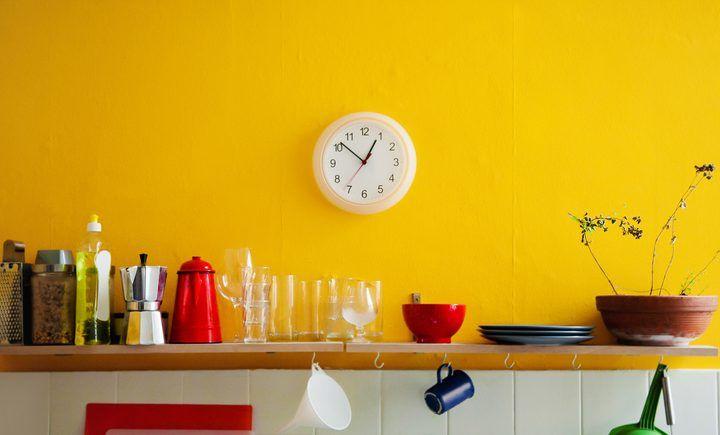 Küche tapezieren