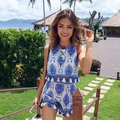 Pia Muehlenbeck in alice McCALL Spring 2016. Available at www.alicemccall.com