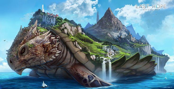 ArtStation - Ryujin - The Ever Moving Land, Dean Oyebo