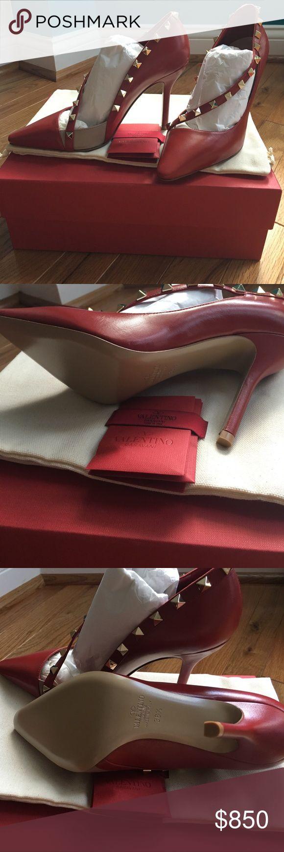 Rockstud Valentino Garavani D'Orsay 36.5 NIB. True to size. Valentino Shoes Heels