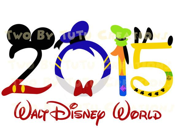 Walt Disney World Fab Five Mickey Gang by TwoByTuTuCreations
