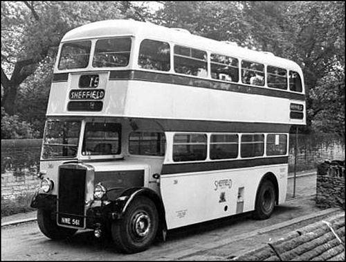 NWE561 Sheffield Corporation Transport Department fleet no. 361 a 1952 built Leyland PD2/12 with rare Mann Egerton H56R bodywork | Flickr - Photo Sharing!