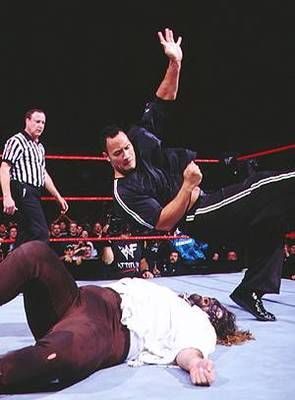 The Rock vs Mankind: I Quit match at Royal Rumble 1999