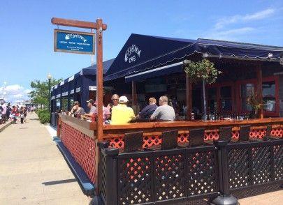 Fishbones Bar & Grill Oak Bluffs Dining Martha's Vineyard Restaurants