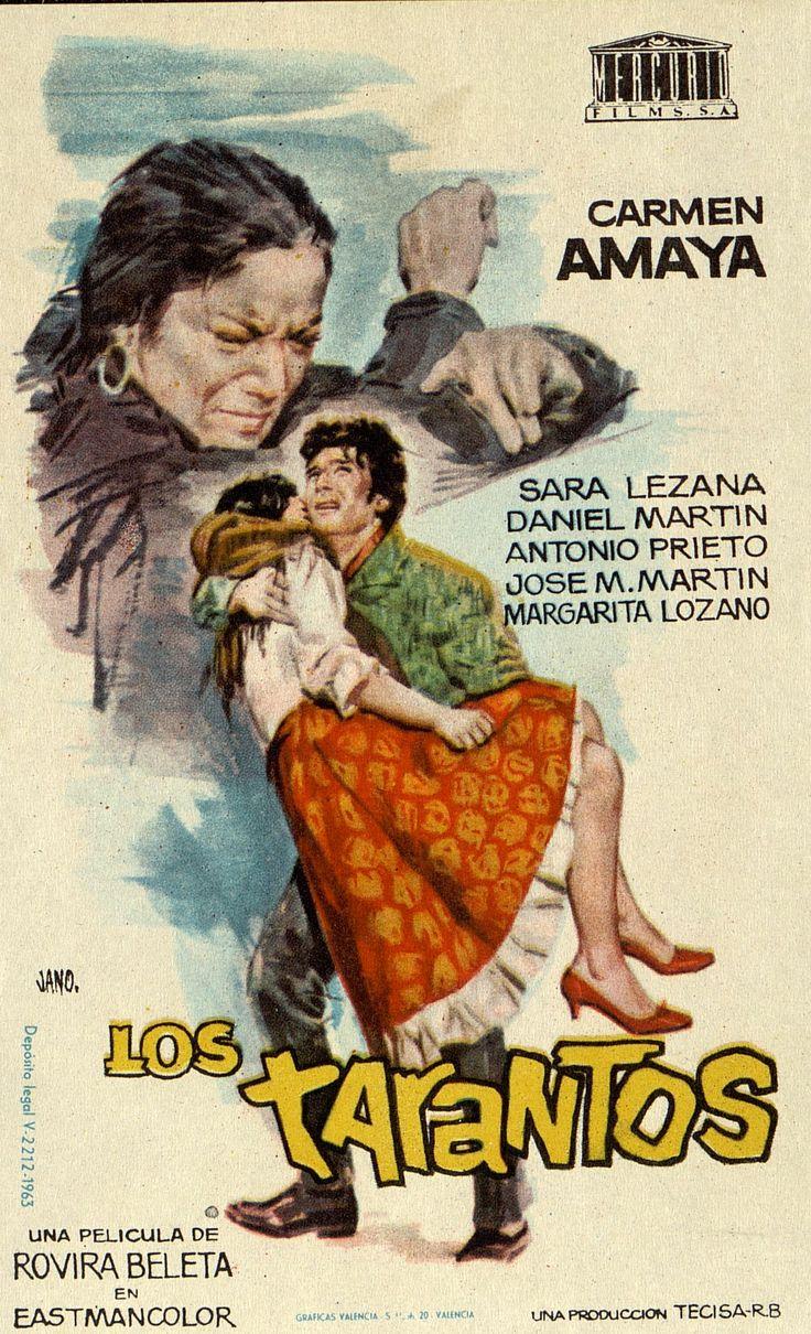 362.     JANO. Los Tarantos. Dirigida por Francisco Rovira Beleta. Valencia: Gráficas Valencia, 1963.  #ProgramasdeMano #BbtkULL #CineEspañol #DiadelLibro2014