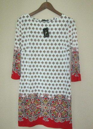 Kup mój przedmiot na #vintedpl http://www.vinted.pl/damska-odziez/krotkie-sukienki/9466598-nowa-piekna-wzorzysta-sukienka-atmosphere-l-m