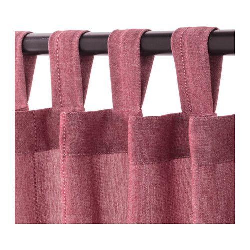 """LENDA Curtains with tie-backs, 1 pair - 55x98 """" - IKEA"""