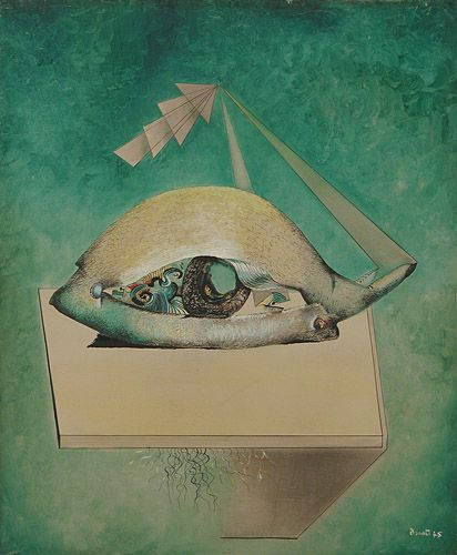 History of Art: Enrico Donati - L'oeil de nuit