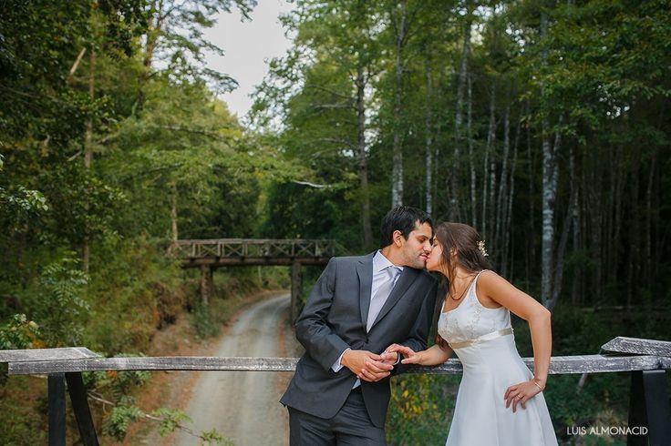 Matrimonio en la Reserva Biologica Huilo Huilo (Hoteles Nothofagus y Montaña Magica) - Santiago de Chile.