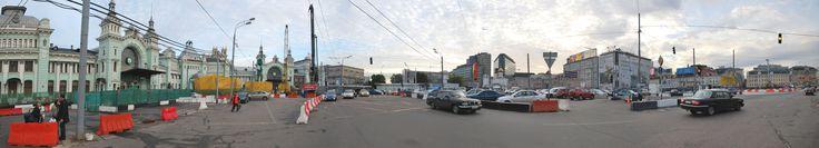 Moscou - Parvis de gare