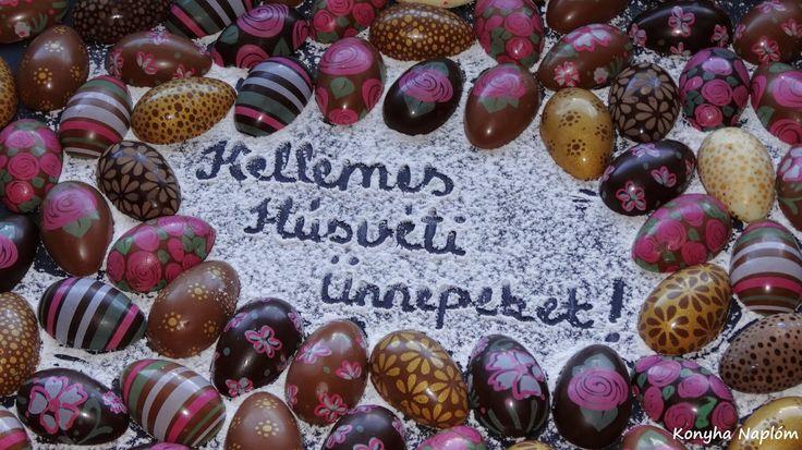 Konyha Naplóm: Húsvéti csokoládé tojás