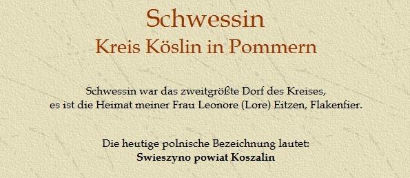 Schwessin Kreis Köslin   Pommern Seiten   Pinterest