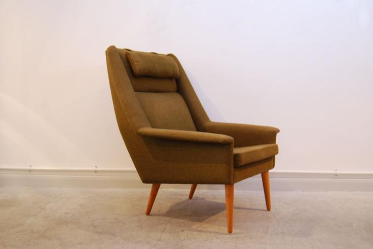 Lounge chair by Folke Ohlsson   CHASE & SORENSEN // DANISH MODERN FURNITURE & HOME DÉCOR