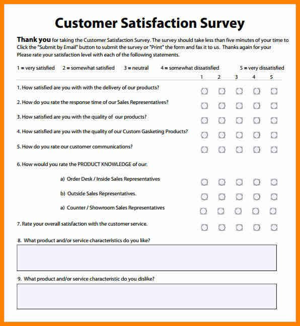 Customer Satisfaction Surveys Survey Templates And Worksheets Survey Template Customer Satisfaction Survey Template Customer Survey Questions