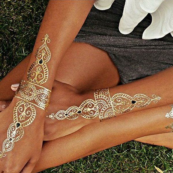 Henné #poignet #main inspiration bracelet d'ou partent des motifs vers les doigts