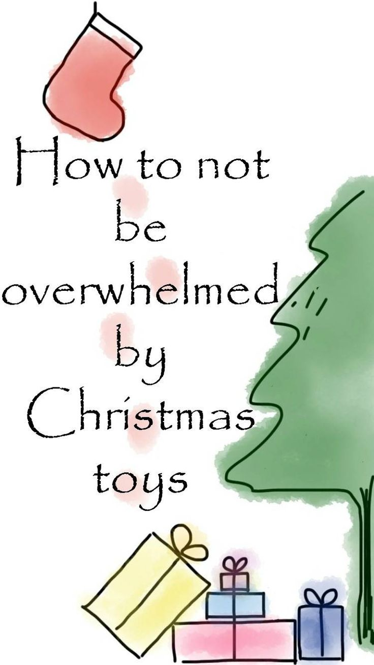How to not be overwhelmed by Christmas toys and make sure you are prepared for them and organised so they don't clutter up your home and cause additional stress and so they are instead a welcome addition to the home for both you and your child. Avoiding stuffocation and being prepared for Christmas really helps avoid Christmas stress