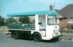 1970's Milk Float. My brother was a milkman for Unigate, I used to help out during the holidays for pocket money.