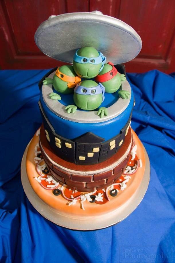 Teenage Mutant Ninja Turtles Cake!