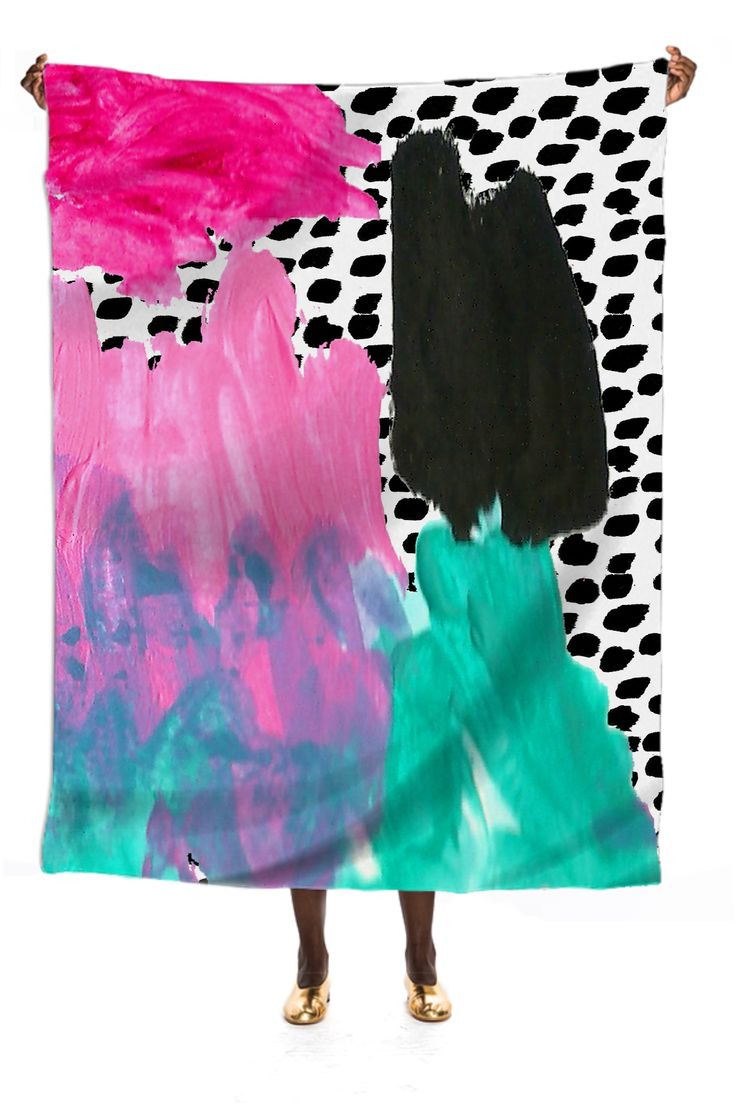BAM! Silk Scarf from Print All Over Me