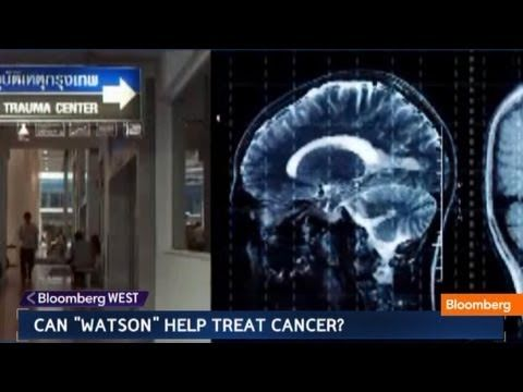 "May 23 (Bloomberg) -- Bloomberg Television looks at the potential medical uses for IBM's ""Watson"" supercomputer. (Source: Bloomberg) -- Subscribe to Bloomber..."